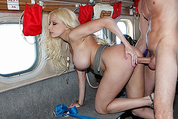 aroused on a Plane