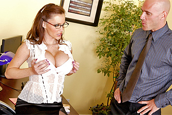 Jenna Presley big boobs video from Big Tits at Work