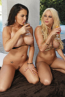 brazzers.com high quality pictures of Gina Lynn, Jenna Presley, Scott Nails
