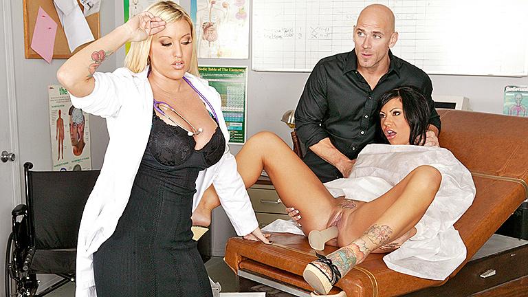 Порно жена у доктора
