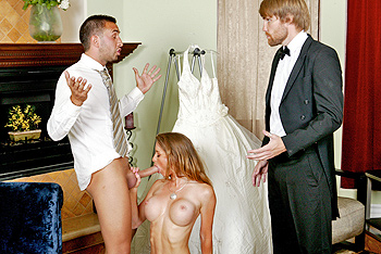 Brides best mans got a large dick