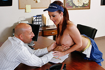Sophie Dee big boobs video from Big Tits at Work