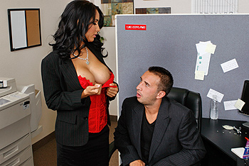 Big Tits at Work &#8211; Isis Love &#8211; Working Hard In The Cubicle
