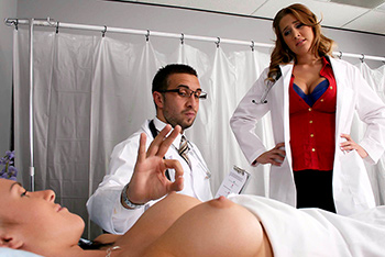 Alanah Rae uniform fetish video from Doctor Adventures