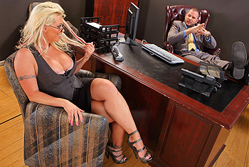Brittney Skye big boobs video from Big Tits at Work