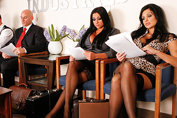 Brazzers Big Tits at Work - Aletta Ocean, Audrey Bitoni