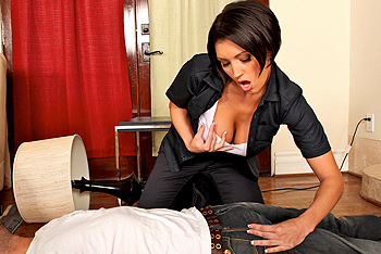 Dylan Ryder uniform fetish video from Big Tits In Uniform
