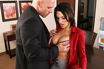 Juelz Ventura big boobs video from Big Tits at Work