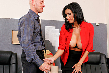 Big Tits at Work &#8211; Shay Sights &#8211; Don&#8217;t Forget The Cream!