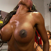 Diamond Jackson, Isis Taylor big boobs video from Big Tits in Sports
