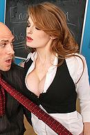 Brazzers porn movie - Red Head RIDE!
