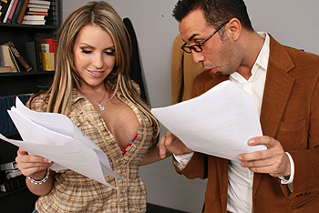 Brazzers Big Tits at School - Courtney Cummz