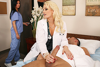 Doctor Monica Mayhem in Stockings