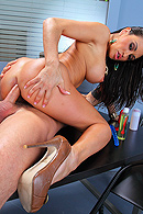 Brazzers video with Claudia Valentine, Scott Nails