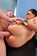 brazzers.com high quality pictures of Claudia Valentine, Scott Nails
