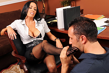 Vanilla DeVille big boobs video from Big Tits at Work