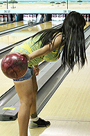 Brazzers porn movie - Bowling Bet for Blow Jobs