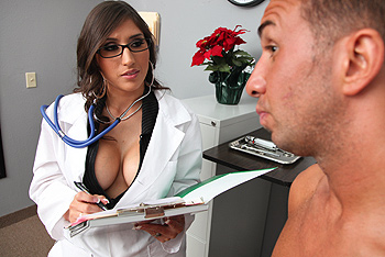 Alexis Breeze uniform fetish video from Doctor Adventures