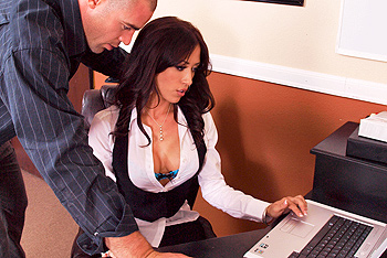 Capri Cavanni big boobs video from Big Tits at Work