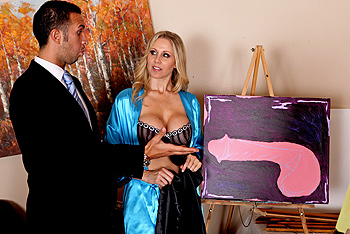Hot Girl Paint Big Dick