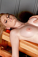 Faye's attention is not where it's supposed to be.  Instead of focusing on her coach's teachings she chooses to focus on the coach instead.  As she strokes her clit in the locker room, she dreams about sucking his cock, only to be pleasantly surprised by the real thing.  Or is it? from Brazzers Network