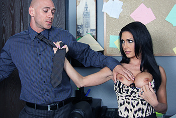 Jessica Jaymes big boobs video from Big Tits at Work
