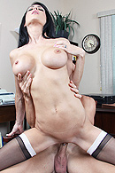 Johnny is called to meet his boss' niece Jessica. One day this sweet girl will run the company and therefore Johnny has to show her around. Jessica isn't as sweet and innocent as her uncle thinks. She's very sexual towards Johnny and forces him to fuck her pussy or he will be fired. from Brazzers Network