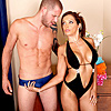 "1 Big Cock Movies - Francesca is a smoking hot milf who spends her morning like any other - she goes for a swim and massages her tits to a seductive soundtrack. today, however, francesca is joined by her best friend and her son, scott.   francesca invites scott to stick around and ""catch up."" this apparently involves putting on her ""dead ex-husband's"" speedo and fucking her brains out."