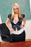 Blake is holding a sex education class for extra credit. The students quickly realize that this is not an ordinary class. Blake starts asking some personal questions about their sex life. Feeling uncomfortable, a couple of students leave the class, so Jordan can learn all on his own. from Brazzers Network