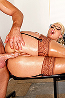You asked for it and now you're gonna get it! Sadie Swede stars in her FIRST anal scene and gets her tight little asshole fucked six ways from Sunday by Bill Bailey. He gets to pop her anal cherry and does so with sheer pelvic gusto! Enjoy! from Brazzers Network