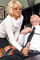 Briana Blair, Johnny Sins on brazzers