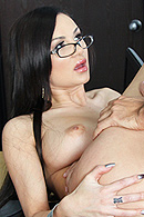 During Amy's class one of the students pretends to have his dick caught in his zipper. When Amy tries to help, the school's dean walks in just as she is in this compromising position. The dean tells Amy that if she's going to behave inappropriately in his school, she's going to have to go all the way. from Brazzers Network