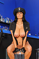 Ava Addams is one corrupt police officer. While visiting a strip club to pick up her monthly allowance She gets a little carried away with one of the dancers. Little does she know that Internal Affairs officer Rocco Reed has been tailing her, and he's gonna show her the  exact meaning of being a dirty cop. from Brazzers Network