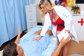 Kristal Summers uniform fetish video from Doctor Adventures