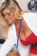Ramon has accused Dr. Summers of taking advantage of him in the patient room earlier that day. She is shown some damaging evidence: a surveillance camera has caught her fucking Ramon. She is forced to confess the shocking truth: she made Ramon fuck her, and she loved every second. from Brazzers Network