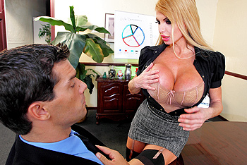 Taylor Wane big boobs video from Big Tits at Work