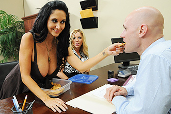 Mommy Got Boobs &#8211; Ava Addams &#8211; Interview with my Asshole
