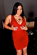 It's time for THE JORDAN HOUR OF POWER and today's guest is the lovely Ms. Sophia Lomeli. After successfully completing the Cougar Competition Extravaganza that sees her swallow dildos of all shapes and sizes and thereby proving her cougar capacity and MILF mastery, Sophia wants the real thing and Jordan's only too happy to oblige her. from Brazzers Network