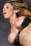 Kayla is a crazy animal hunter having a bad hunting day. Jordan is an animal rights activist willing to teach her a lesson. He catches her and puts her in a cage to teach her a lesson but Kayla knows how to get out of this situation. She uses her big tits to make Jordan open the cage and set her free. from Brazzers Network