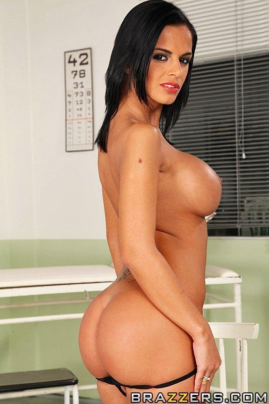 Breast video reduction black angelika in