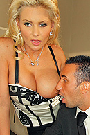 Sleeping with the boss has always paid off for Phoenix, especially when it's come to using the company's expense account!  However, when a pencil pushing stiff from the head office is called in to investigate, Phoenix is forced to save her job the only way she knows how. from Brazzers Network