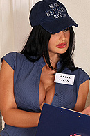 With the post office always mixing up their parcels, delivery girl Aletta vows to make things right, one package at a time!  Neither rain nor snow will keep her off her route - the wetter, the better - and even though she's trained to ring the doorbell, Aletta definitely prefers the backdoor! from Brazzers Network