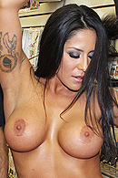 A sex shop is a satisfying and stimulating place, especially when renowned pornstar Jenaveve Jolie drops by to entertain her fans.  But when the crowd gets a little out of hand, it's up to the store owner to come to Jenaveve's rescue and prove to her why no one leaves his store without a smile on their face! from Brazzers Network