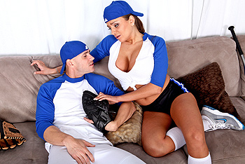 Big Tits In Sports &#8211; Nika Noire &#8211; Baseballs in your Mouth