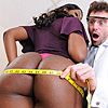 When adult superstar nyomi banxxx walked into james  office in order to insure her butt she was hoping to fill our a few forms and be on her way   instead she was forced to literally bend over backwards to get the coverage that she needed   this just goes.