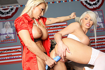 Hot And Mean &#8211; Brooke Haven &#8211; Holly Halston &#8211; RepubliCunts