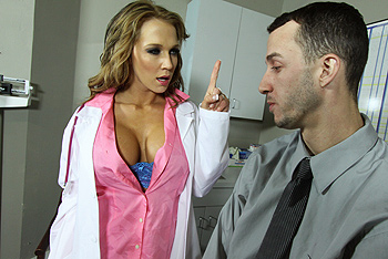 Nikki Sexx uniform fetish video from Doctor Adventures