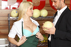 brazzers kylee king, only one way to save the store!