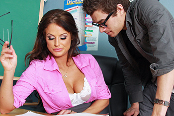Big Tits at School &#8211; Brooke Belle &#8211; Getting Head in Sex Ed