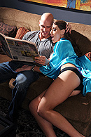 Eve Laurence, Johnny Sins on brazzers